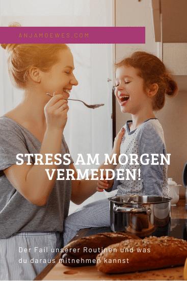 stress am morgen, morgenroutine kinder, leben mit kindern