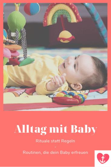 baby alltag, baby tagesplan, baby tagesablauf
